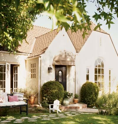 This is my dream!!  From an old Cottage Living article, clipped for inspiration as the owner was a single lady on a tight budget who saved, bought and did all the renno herself.  Inspiration!