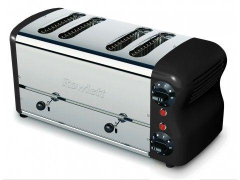 Rowlett Esprit 2 x 2 Wide Slice Breakfast Toaster in Black - Toasters - Electronics