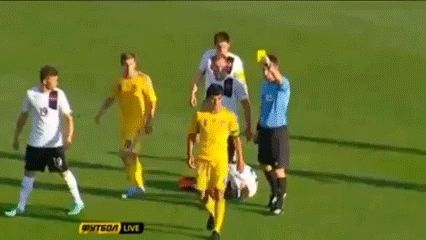 In your face… #lol #gif #football