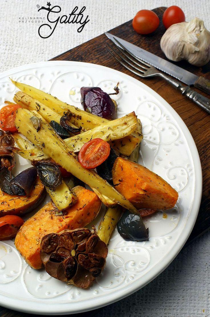 Kulinarne przygody Gatity - przepisy pełne smaku: Pieczone warzywa według Yotam Ottolenhgi