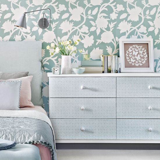 Click to photo to discover 8 Ikea hacks that anyone can do. Why not turn a boring pine chest of drawers into a beautiful piece of storage...