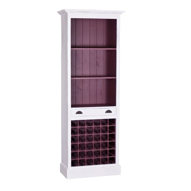 Aceasta piesa de mobilier este in special destinata colectionarilor de vinuri care pot sa isi pastreze sticlele la vedere. Raftul Wine se potriveste intr-o sufragerie sau bucatarie fiind ideala pentru depozitarea obiectelor decorative.