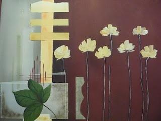Bastidor 40 x 50 Pintura acrilica