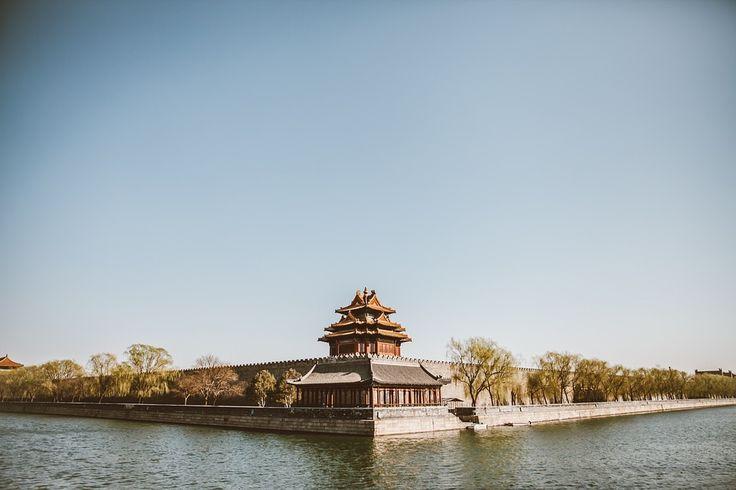 Temple au bord de l'eau