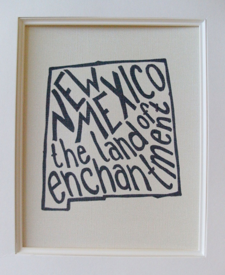 Map Of Us States Bordering Mexico%0A New Mexico the Land of Enchantment