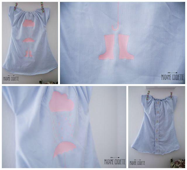 Madame Coquette: DIY / šaty ze staré košile