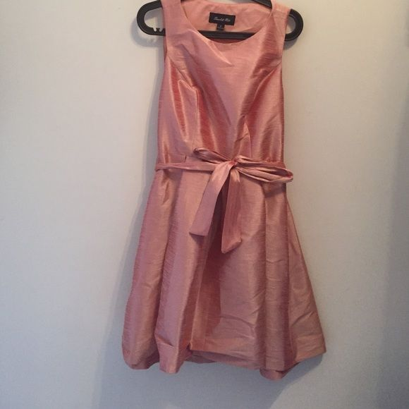 Cocktail dress Perfect for wedding, party or night out. Brand new. Salmon color. Looks better on. Dresses