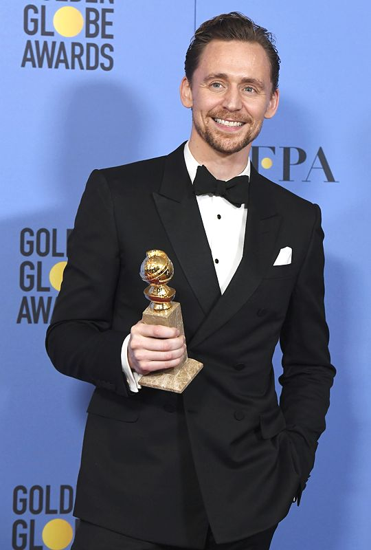 He won his first golden globe!!!! And his speech was awesome!