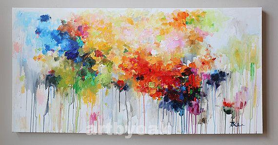 48'' pintura sobre lienzo arte moderno arte abstracto