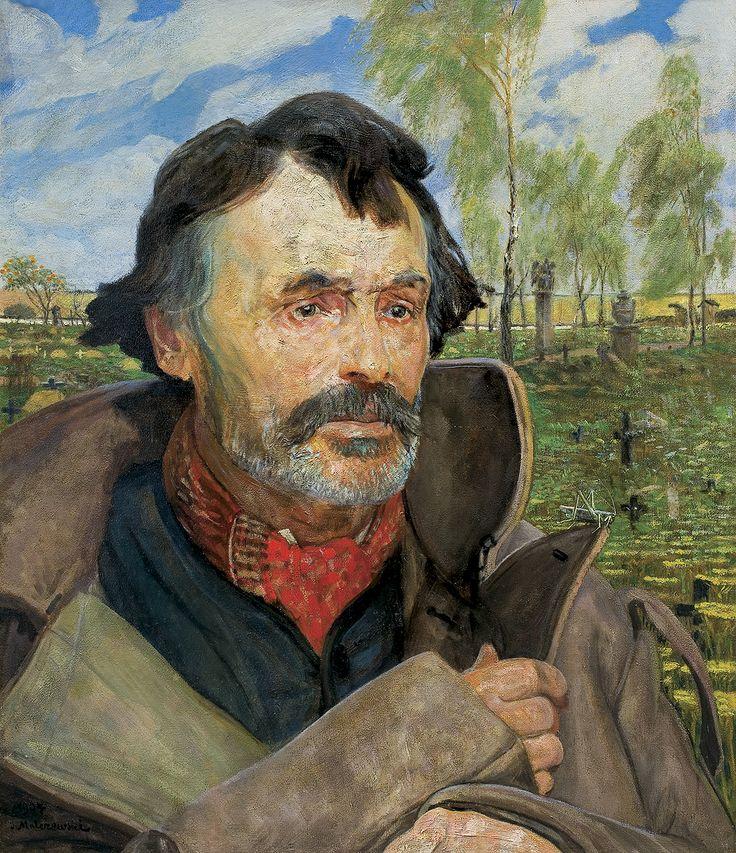 Jacek Malczewski: Nieśmiertelność, 1907 r., olej, deska, 54 x 45,5 cm