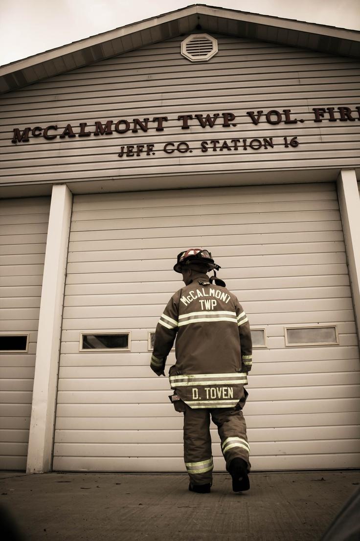 I love my firefighter <3