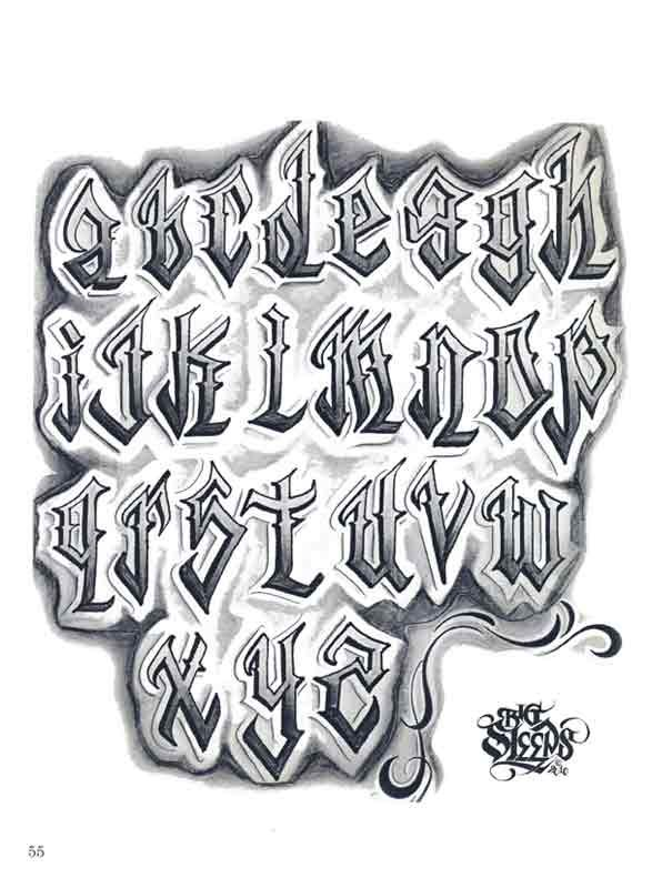Lowrider Tattoo Flash | Pin Pin Letters To Live By Lowrider Tattoo Studios Hawaii Dermatology ...