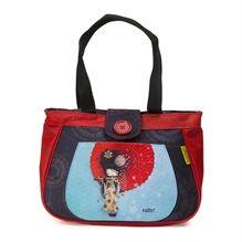 Boîte à lunch Ketto, style sac à main - Geisha / Ketto's lunch bag, handbag style - Geisha * Fabriqué à 80% de bouteilles de plastique recyclées / Made of 80% of recycled plastic bottles * www.kettodesign.com