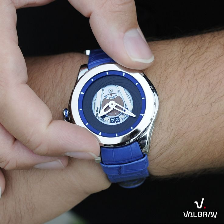 Oculus Big Date Cool Blue !  http://valbray.ch/fr/watch/nautic