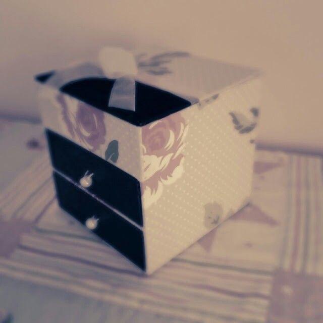 Papered Jewellery box