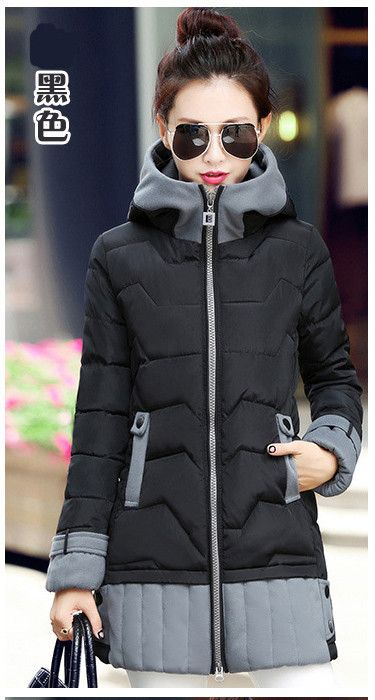 Long Womens Winter Jackets And Coats 2016 Thick Warm Women Parka Women's Winter Jacket Female Down Cotton Anorak Manteau Femme