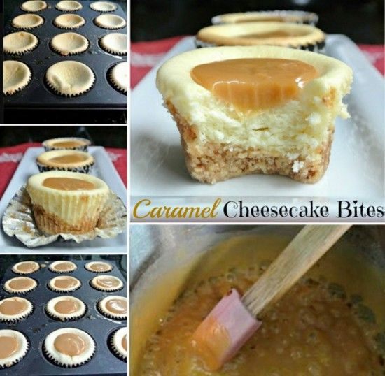 These Gluten Free Caramel Cheesecake Cupcakes have been an Internet smash and they are easy to make and taste great. Check out the Salted Caramel ones too.