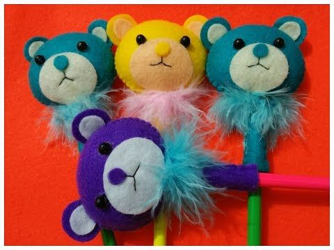 Tutorial Craft | pensil Flanel | Tedy Bear | ala DJ Rangga - YouTube