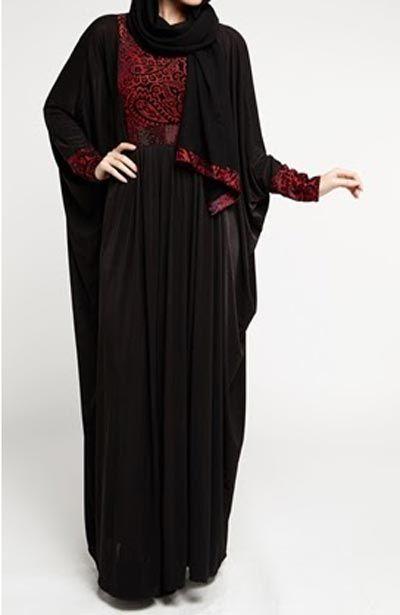 Latest-Saudi-Abaya-Designs-Styles-Collection-2015-Black-Burqa.jpg (400×615)