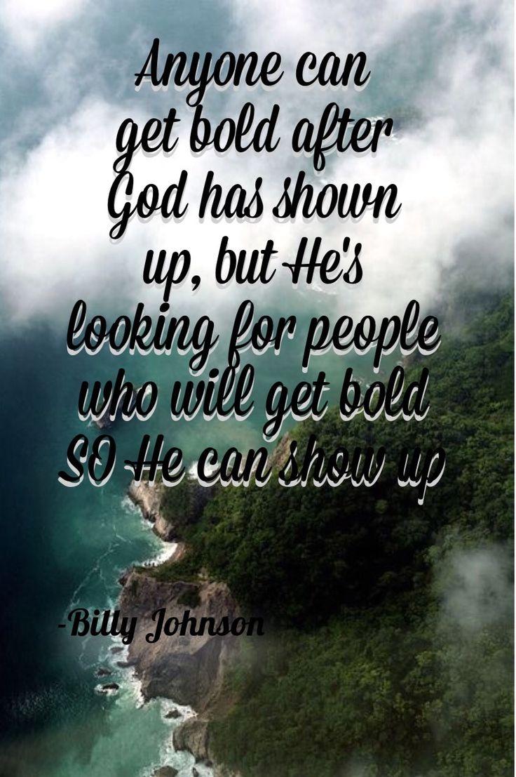 Bill Johnson bethel church quoted