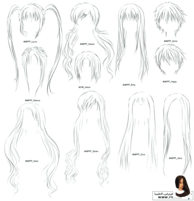 Anime Beginners Draw Drawing Ideas Easy Cute Google Hair Search Step How To Draw Anime Hair Step By St Anime Drawings Manga Hair How To Draw Anime Hair