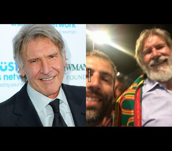 Harrison Ford festeja a 'última cruzada' portuguesa em Lisboa