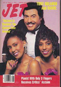 JET MAGAZINE OCTOBER 10, 1988 *TONY ORLANDO and DAWN*  | eBay