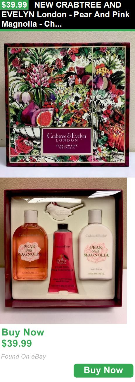 Hand and Nail Treatment Creams 36432: New Crabtree And Evelyn London - Pear And Pink Magnolia - Christmas Gift Set BUY IT NOW ONLY: $39.99