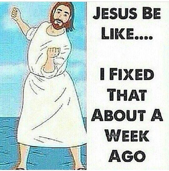 Fix it Jesus