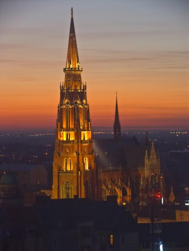 Croatia, Church of St Peter and St Paul, Osijek
