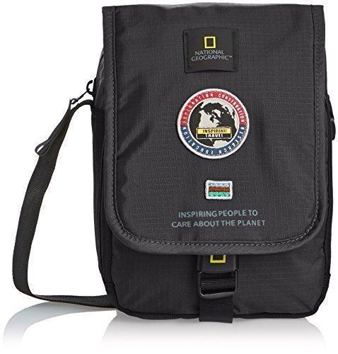 Oferta: 29.95€. Comprar Ofertas de National Geographic - Bolso al hombro para hombre negro barato. ¡Mira las ofertas!