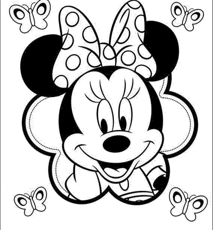 Minnie Mouse Coloring Pages Minnie Mouse Coloring Pages