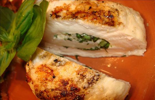 رول الدجاج المشوي - طبق فاتح للشهية