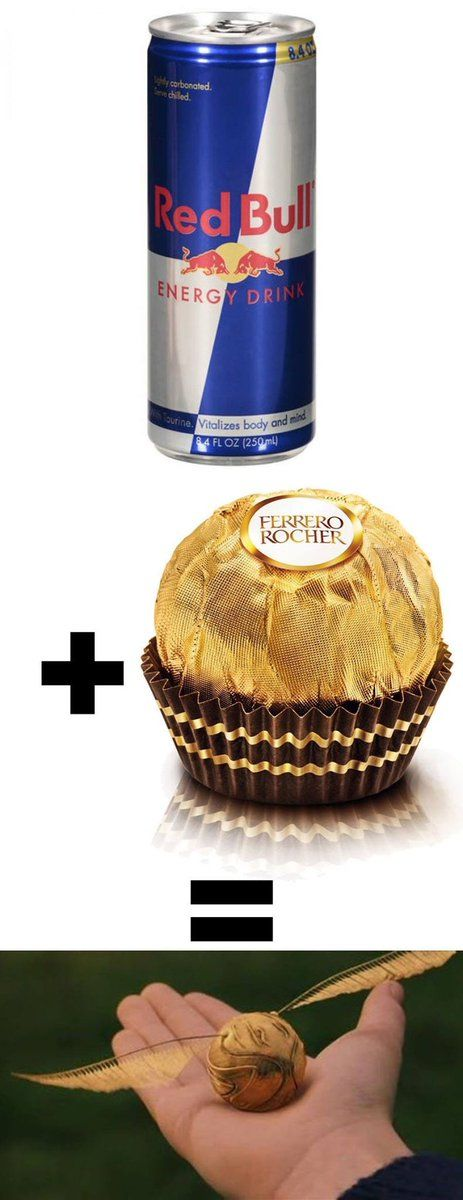 Red Bull + Ferrero Rocher
