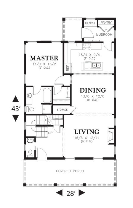 40 best House Plans images on Pinterest | Floor plans, Home plans ...