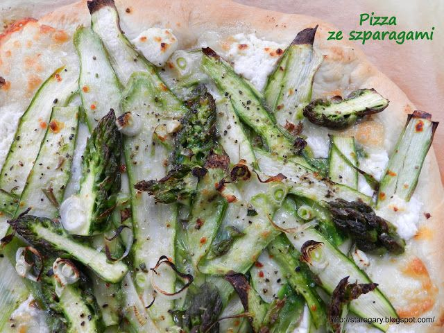 Stare Gary Pizza ze szparagami