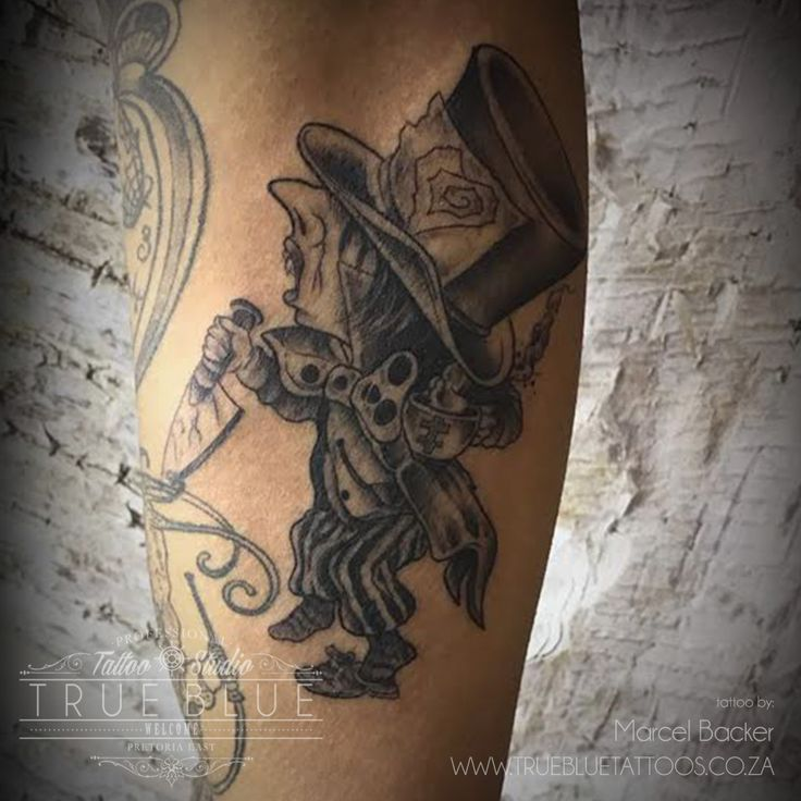"""Madness""by Marcel Backer of True Blue Professional Tattoo Studio"