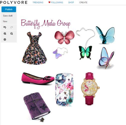 Social Media Fashion Polyvore