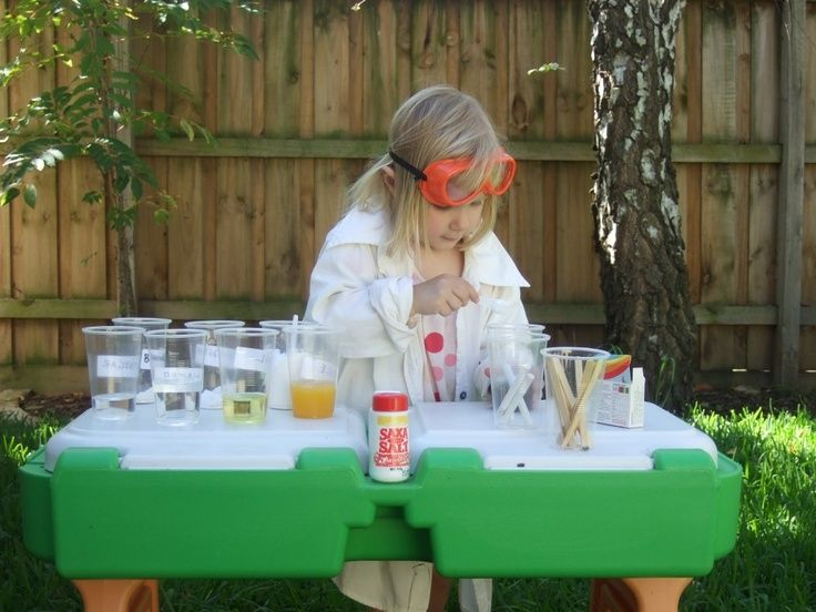 Setup A Messy But Fun Science Experiment Table With
