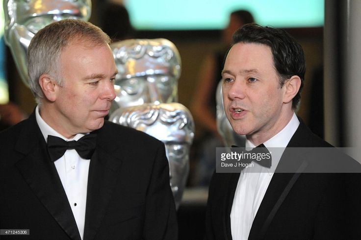 Steve Pemberton and Reece Shearsmith arrive for the BAFTA TV Craft Awards, at The Brewery on April 26, 2015 in London, England.