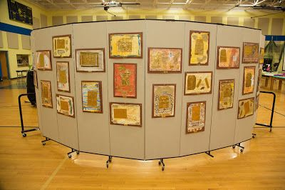 Amazing elementary/middle school art show ideas. Complete with games, live music, an artist cafe, and activities!
