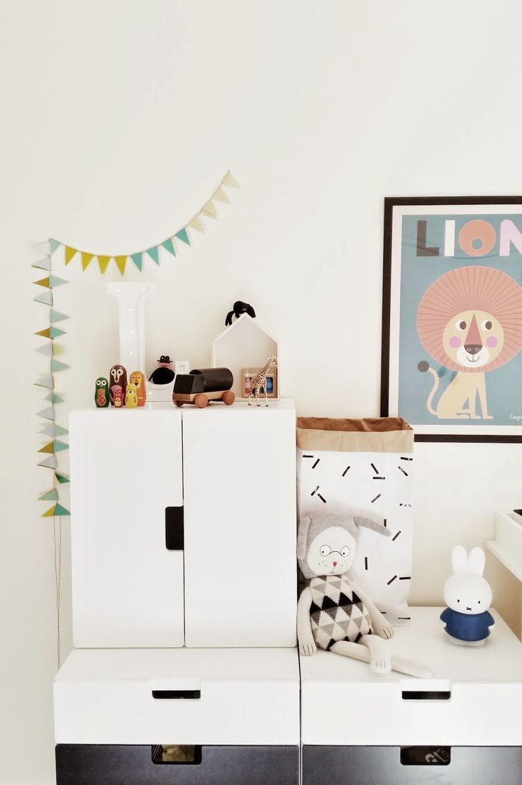 kids room storage, IKEA Stuva system