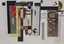 Rouge et Noir a Badem Ciflik: Wassily Kandinsky, Two Green Points (Paris, Musee ...