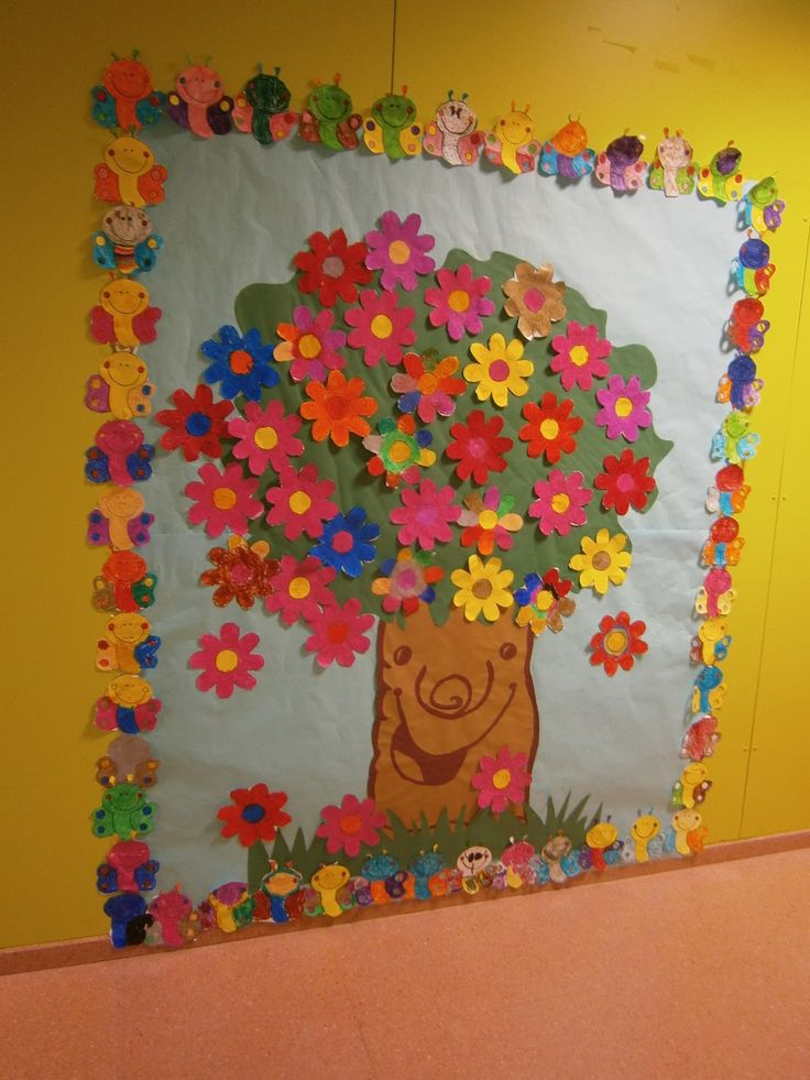 1000 images about escuela on pinterest personal word - Decoracion de primavera ...