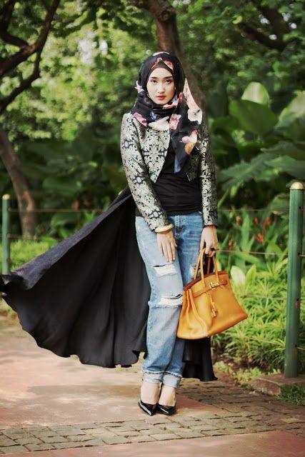 DUSK | Dian Pelangi Hijab  muslimah fashion inspiration