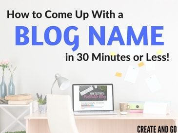 17 Best ideas about Blog Names on Pinterest   Blogging for ...