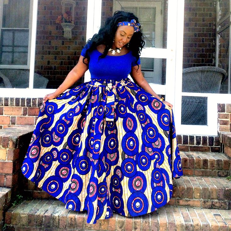 Me dressed up on Easter Sunday. African fashion, Ankara, kitenge, African women dresses, African prints, Nigerian wedding, Ghanaian fashion, African wedding, Nigerian fashion, Ankara Maxi Skirt. IG: @nadia_natou