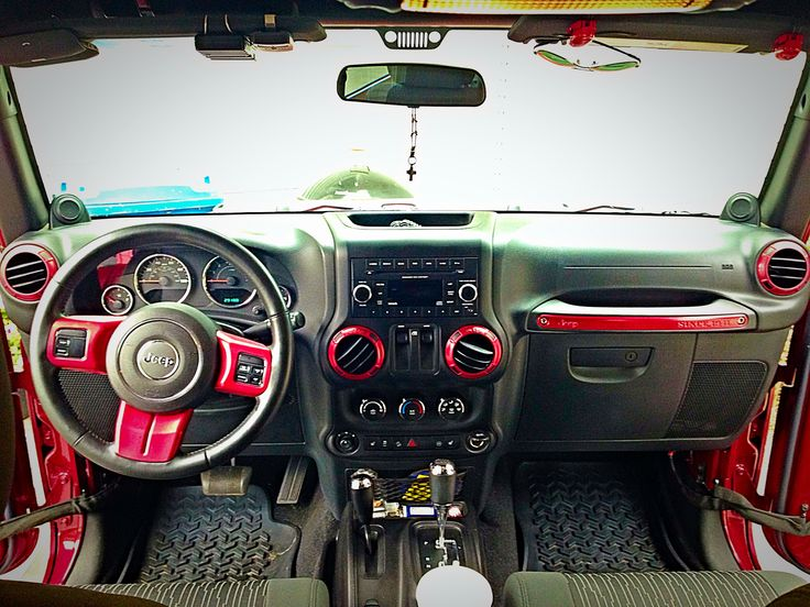 Diy Red Accents For Jeep Wrangler Find Your Mopar 174 Paint