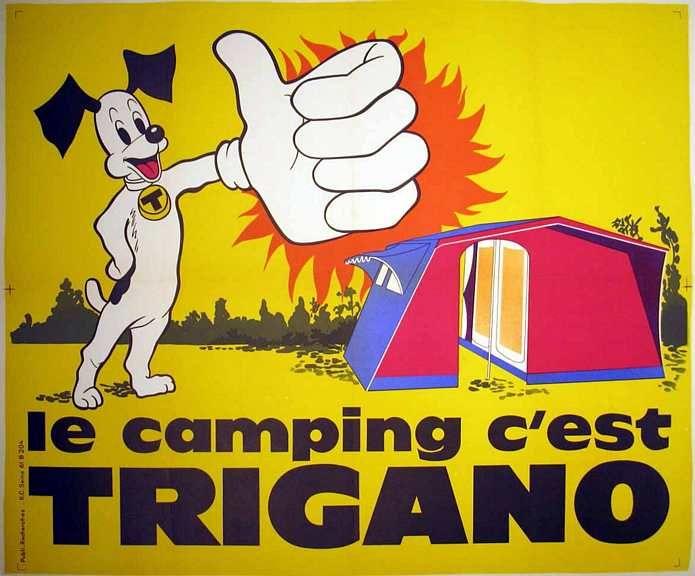 Non, ce n'est pas Pif le chien, c'est notre ancienne mascotte ! #wouaf #trigano #camping