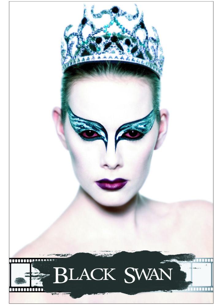 Black Swan revisité. MUA/HAIR: Sophie Bastien | Photo: Laurence Labat